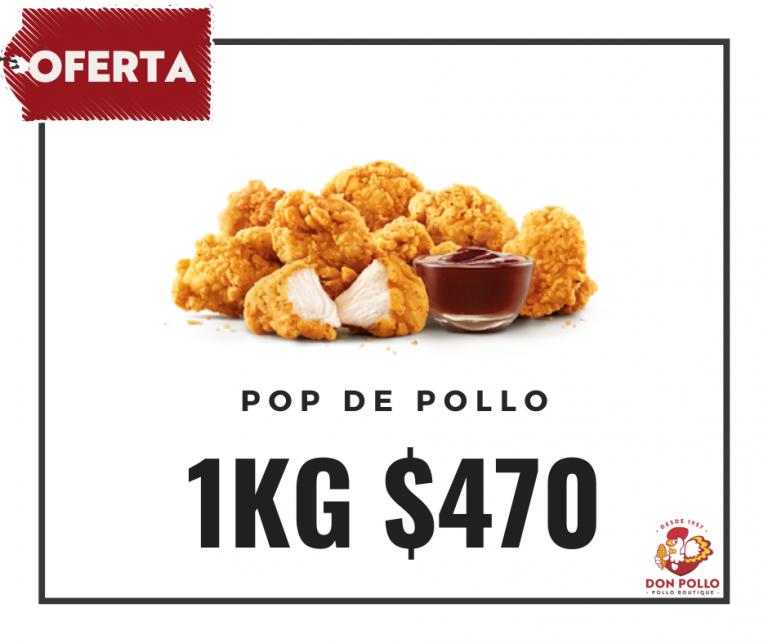 Oferta Pop de Pollo