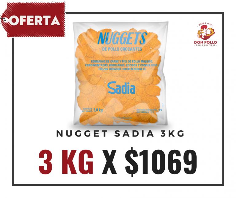 Oferta Nugget Sadia 3kg